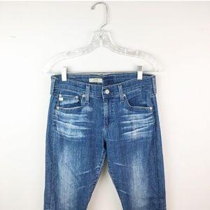 AG skinny jeans the nikki relazed skinny medium 27